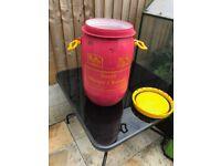 Storage Drum, Ideal for garden or food storage