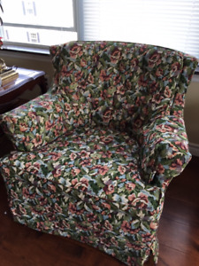 Living room set couch & chair