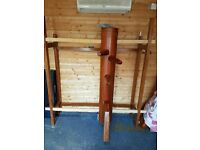 Martial arts wooden dummy (Wing Chung)