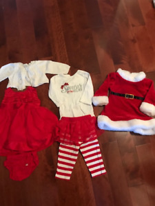 Christmas Outfits - 3 months