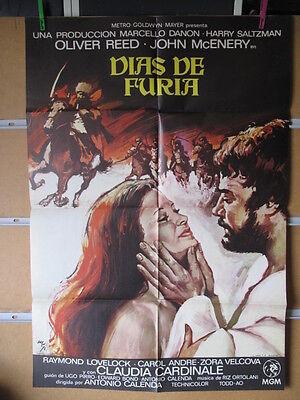 2093     DIAS DE FURIA. OLIVER REED, JOHN MCENERY