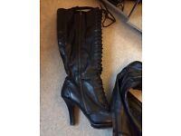Ladies boots and high heel shoes Joblot of size 5