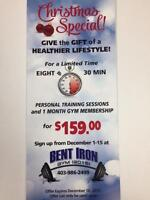 Give The Gift of a Healthier Lifestyle - Personal Training Offer