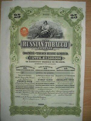 Russian Tobacco Company  1915
