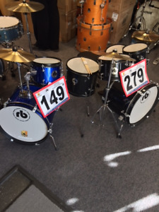 RB Junior Drum kits 3 & 5 Pieces