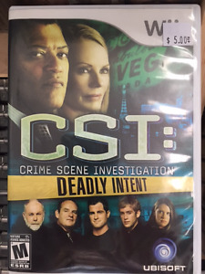 Wii CSI Deadly Intent