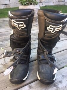 Dirtbike boots youth Fox Comp 5  size 7 youth