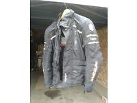 Motorcycle Wolf Titianium Jacket and trousers suit