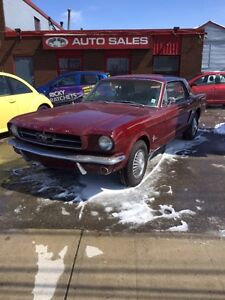 1965 FORD MUSTANG COUPE - $15,995 CERTIFIED 50 YEAR ANNIVERSARY