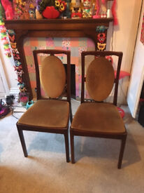 Two Dining Chairs **FREE**