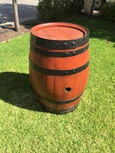 WINE BARREL - SUPER RARE 'OCTAVE' APPROX 100L JARRAH STAINED St Agnes Tea Tree Gully Area Preview