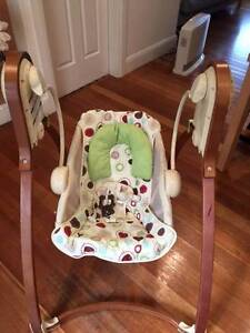 Fisher-Price Baby Studio Bentwood Swing with music Leichhardt Leichhardt Area Preview