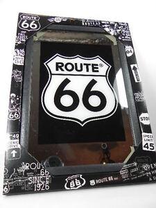ROUTE-66-Espejo-Para-Barra-Pub-Negocio-30-cm-EE-UU-America-Decoracion-NUEVO