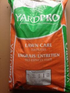 Yard pro fertilizer professional product 25kg covers 10,000 Sq