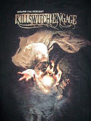 """KILLSWITCH ENGAGED """"Disarm the Descent"""" Concert Tour (XL) T-Shirt"""