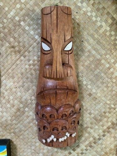 New Moai Skull Pile Tiki Mask by Smokin