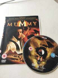 The Mummy [Rachel Weisz Brendan Frazer] DVD Uncut with Bonus Ft