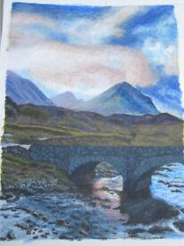 Old Bridge, Sligachan, Isle of Skye