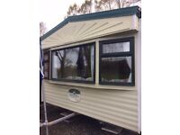Static Caravan for sale- Cosalt Madeira- DOUBLE GLAZED- FOR PRIVATE LAND !