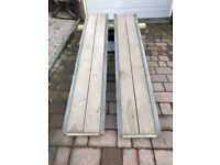 Pair 6' Heavy duty Ramps IFOR WILLIAMS Trailer