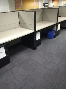 Cubicles, Teknion laverage Telemarketing stations, only $349.99