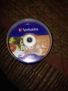 Brand New Verbatim Printable DVD-R 50 Pack