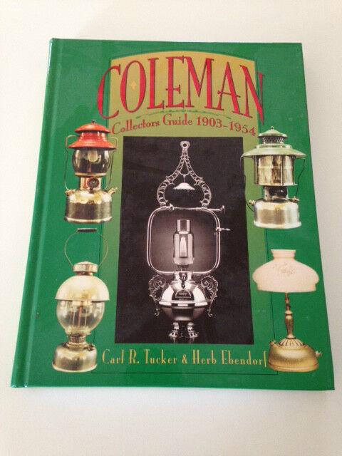 1996 Coleman Lantern Hard bond 1903-54 Collectors (Unused) Guide Book