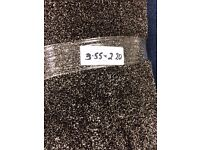 Luxury pile carpet remnant available to collect today, size 2.20 x 3.55m £65
