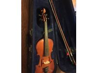 Stentor Student II 1/2 size violin and case