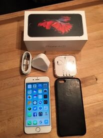 Iphone 6S 64GB Silver - Unlocked - Grade A