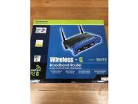 Linksys Wireless-G Broadband Router