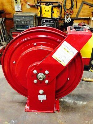 Alemite Hose Reel 7336-b Airwater Heavy Duty Holds 50 Of 38 Hose
