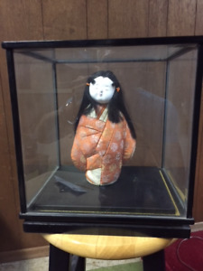 Mint Japanese porcelain doll
