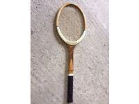 Vintage wooden Slazenger Tennis Racquet