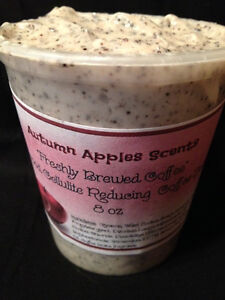 COFFEE Whipped Sugar Body Scrub! All natural! Cellulite reducing!  8oz