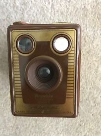 Kodak Brownie Flash film box camera