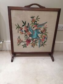 Embroidery Firescreen