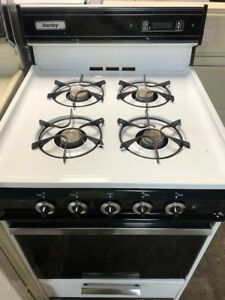 """HARD TO FIND........24"""" PROPANE GAS RANGE; EXCELLENT CONDITION"""