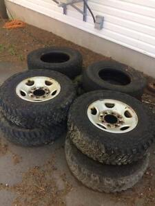 Almost BRAND NEW Deep Digger truck tires 245/75/16