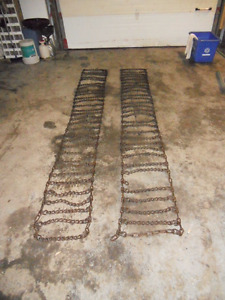 Farm Tractor Tire Chains