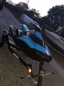 2016 seadoo spark 3-up IBR CONV package *trailer included*