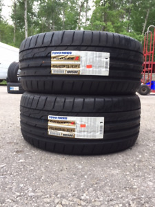 2 x P235/40/18 Toyo Proxes ST II tires installed SALE $200