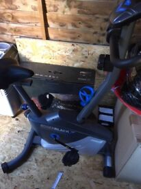 Roger Black Plus Magnetic Exercise Bike - Originally £199 SELLING FOR £90 ONO