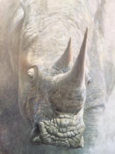 Robert Bateman Rhino Special Edition