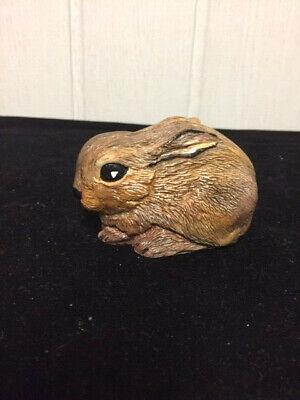 Dekofigur Hase, Kaninchen, Keramik Handarbeit ()