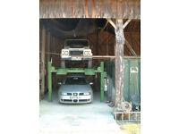 Garage / Barn Share / Unit share / Car storage required