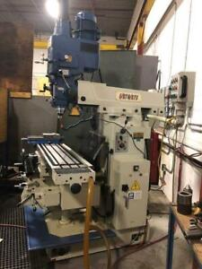Fortworth G450B Universal Milling Machine ***BIDDING IS LIVE*** Canada Preview