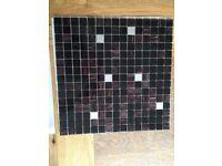 2.07 sqm Bisazza Nefertiti Italian Glass Mosaic Tiles