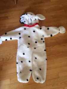 101 Dalmation Halloween Costume - sold PPU