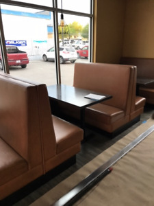 Restaurant Booth Benches For Sale